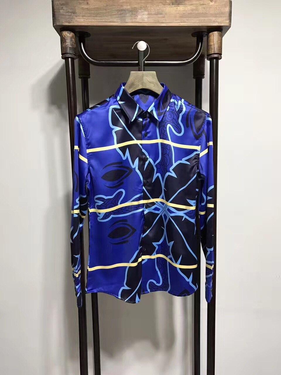 Fantastique chaude hommes de chemises, 2018 automne et hiver Fantastique casual chemises BB1708092CS