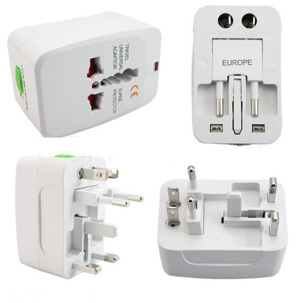 Universal All-in-One Travel Adapter Plug Socket/Converter US UK EU AU Adapter Socket Plug Factory direct travel Socket/Plug