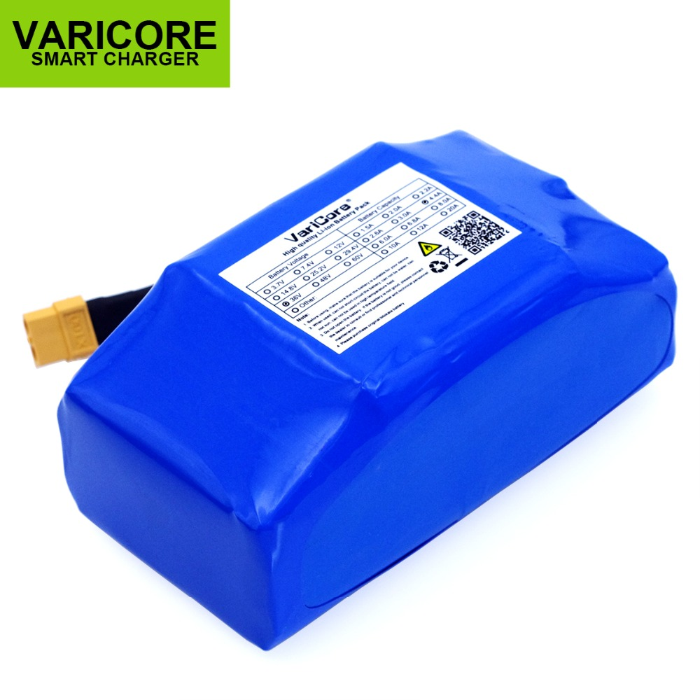 VariCore Original 36V 4 4Ah high power electric scooter automatic balance li ion battery Protected 4400mAh