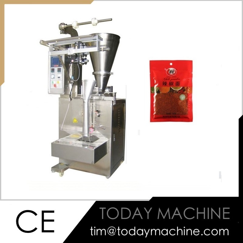 Automatic screw measuring small sachets cocoa powder packing machine
