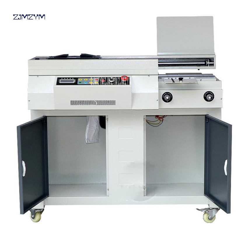A4 Automated Glue E-book Binder Glue Binding Machine 310Mm*55Mm Excellent Binder File Monetary Electrical Binder Booklet 1000W Energy