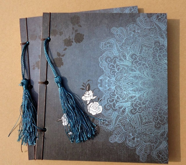 Vintage Notebook [ Cloud Green Series ] Chinese Style Features Vintage Blank Kraft Paper Notepad Book