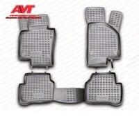 Коврики для Volkswagen Passat B6 2005-2009  4 шт.  Резиновые Нескользящие Коврики для салона автомобиля  аксессуары для стайлинга