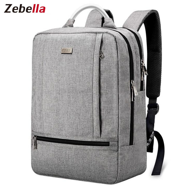 Zebella Men Women College Student School Nylon Laptop Backpack Bags for Teenagers Vintage Mochila Casual Rucksack Travel Daypack laifu laptop backpack college student school women daypack travel bag nylon waterproof lightweight