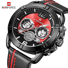 2019 New Men Watch NAVIFORCE Top Brand Luxury Military Sport Quartz Wrist Watch Mens Watches Waterproof Clock Relogio Masculino naviforce men watches top brand luxury sport quartz watch leather strap clock men s waterproof wristwatch relogio masculino 9099