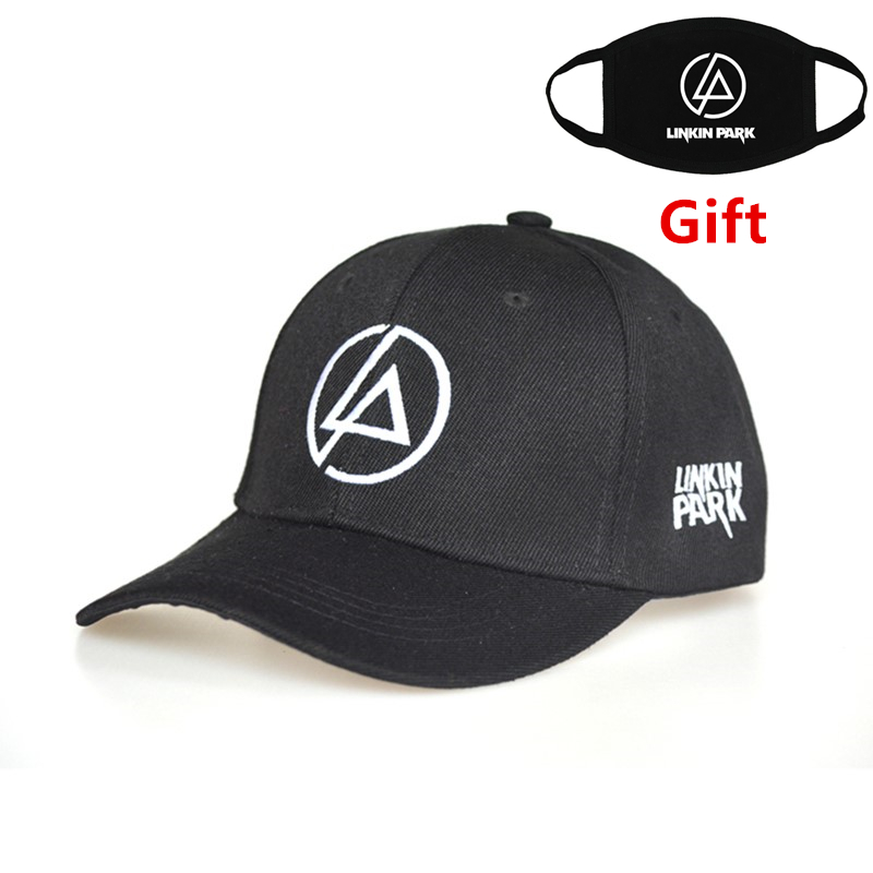 Linkin Park   baseball     cap   adjustable hip hop men women Rapper Bboy DJ dancer embroidered letter   cap