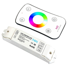 New Led M3-3A DC12V/24V 3Ax3CH 9A RGB LED Receiving Controller + M3 RF Wireless Touch Remote for 5050 3528 Strips