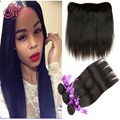 Brazilian Straight Hair With Closure Ear To Ear Lace Frontal Rosa Hair Products Brazillian Straight Hair With Lace Frontal Halo