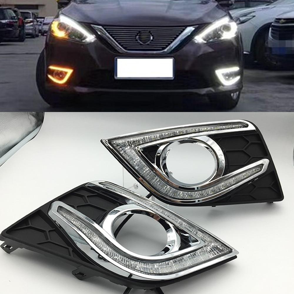Car Flashing 1 Set Drl Daytime Running Lights For Nissan