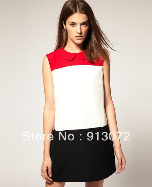 Aliexpress.com : Buy QZ117 New Fashion Ladies' elegant Red Black ...