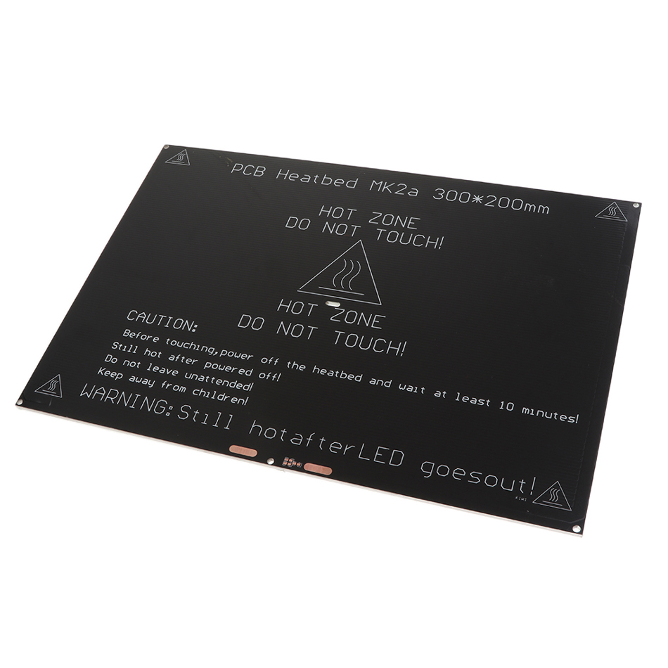 Heated Bed 200*300*3mm Aluminium PCB <font><b>Heatbed</b></font> 12v 24v for MK3 MK2A 3D Printer image
