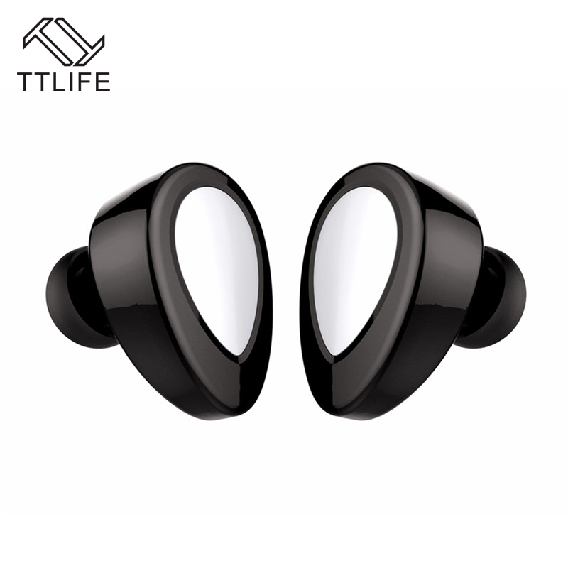 1 $ Free ! TTLIFE Wireless Earphone Sport Headset Style Stereo Mini Bluetooth Earbuds with Charge Base for xiaomi phones Earbuds