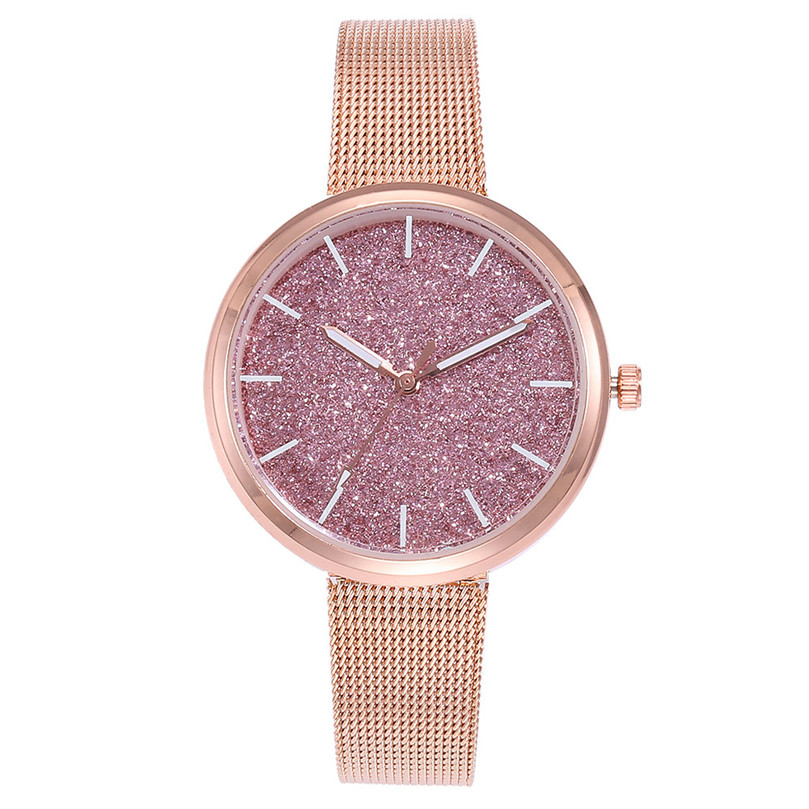 Women Dress Watches Stainless Steel Band Fashion Ladies Wristwatch Creative Quartz Clock Cheap Luxury Watches Dropshipping 4FN