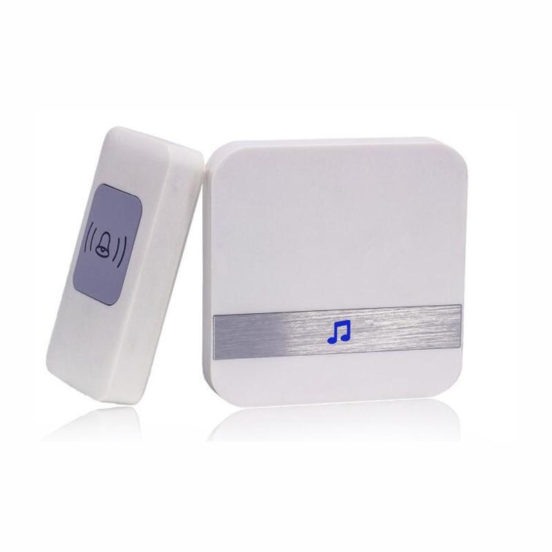 Wireless Doorbell LED Smart Home DoorBell  200m Transmitted Range Mini Wireless Door bell 50 Ring TunesWireless Doorbell LED Smart Home DoorBell  200m Transmitted Range Mini Wireless Door bell 50 Ring Tunes