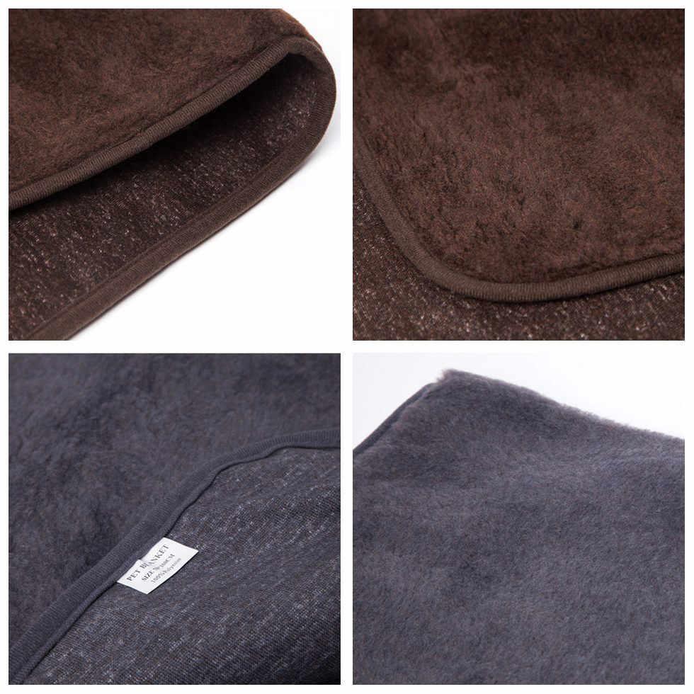 Couverture de chien de compagnie de haute qualité douce confortable couverture de chien chaud pour petit moyen grand chien chat Husky sommeil & Lay couverture COO009