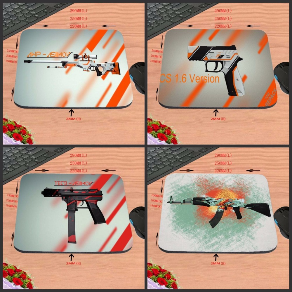 Mairuige Luxury Printing Customized Unique Design Durable Game Gaming PC Anti-slip Mouse Mat for Optical/Trackball Mouse