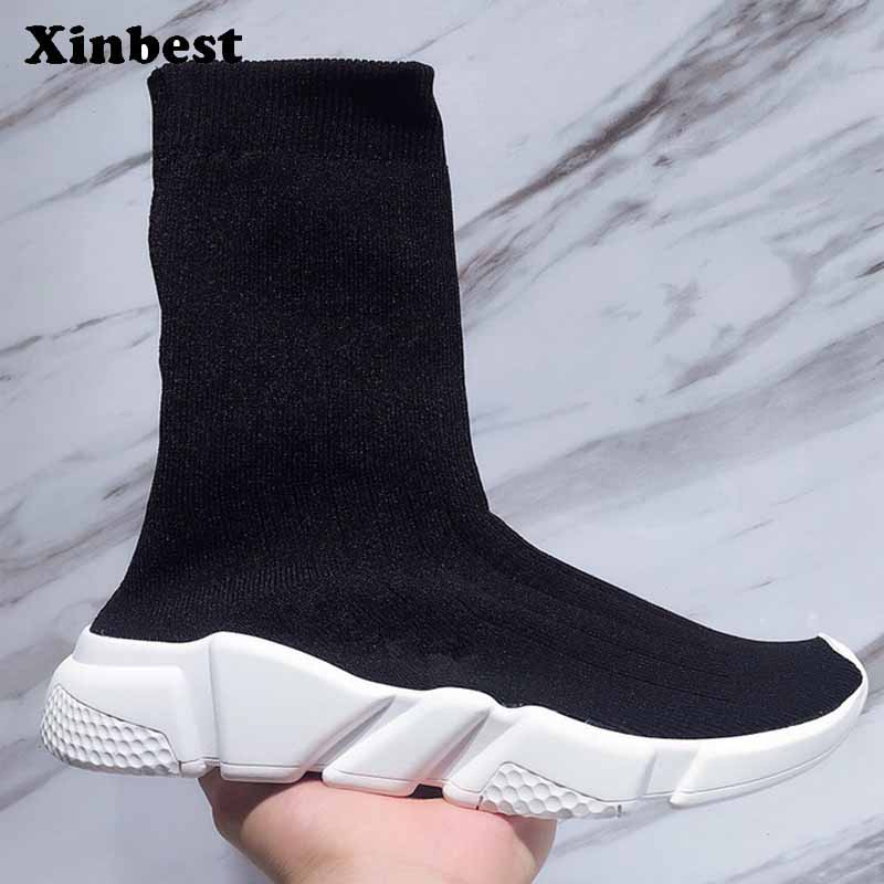 Xinbest Man Woman Brand Outdoor Athletic Breathable Running Shoes Comfortab Outdoor Jogging Fly line Fabric Antiskid Sneakers