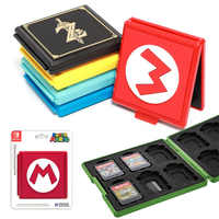 Nintend Switch Premium Portable Game Card Case 12 in 1 Storage Hard Shell Case for Nintendo Switch Gaming Accessories
