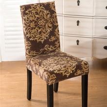 SunnyRain 4/6 Pièces Président De Flanelle Couvre Spandex De Mariage Housses de Chaise Salle À Manger Chaise Couverture coprisedie fundas para sillas