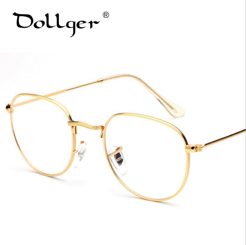DOLLGER Cool Fashion Newest Style Round Eyeglasses Frame Vintage ...