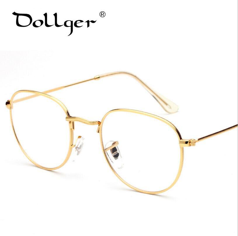 DOLLGER Coole Mode Neueste Art Runde Brillen Rahmen Vintage Brille ...