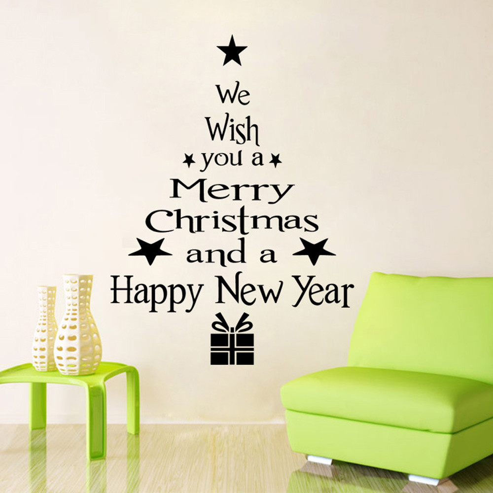 Christmas tree wall decals christmas award certificate samples big deal 2017 new design vinyl removable 3d wall sticker christmas vinyl removable 3d wall sticker christmas tree decals wall decal 20108 christmas tree amipublicfo Choice Image