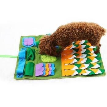Hot arrivée chien animal de compagnie Snuffle tapis lavable chien formation couverture chien sentant tapis IQ formation pression libérant nez travail chien jouets