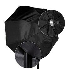 Новый 80 см/31.5in Octagon Зонт Софтбоксы Отражатели диффузор с углеродного Волокно кронштейн для вспышки Speedlite свет Щепка Черный