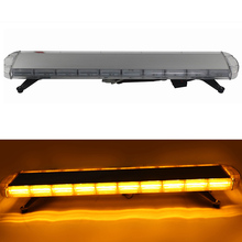 88W COB Car Roof Strobe Warning Light Flash Lamp for 12V 24V Automobiles Truck Trailer Caravan Yellow
