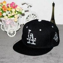 2018 brand baseball cap for men LA cap Embroidery couple Hip Hop cap Snapback hats for women Fitted cotton Hats Gorras Casquette
