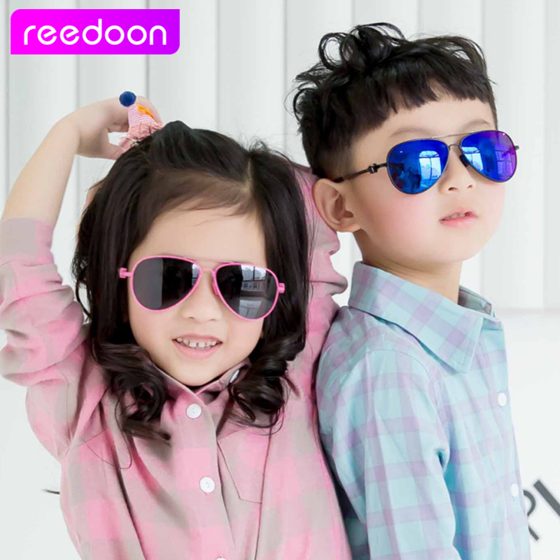 a93727366a69 2016 New Fashion Children Sunglasses Boys Girls Kids Baby Child Sun Glasses  Goggles UV400 mirror glasses Wholesale Price 2611-in Sunglasses from Mother  ...