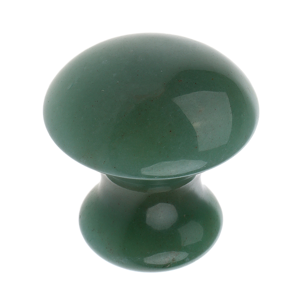 Image 5 - 3 Pcs Jade Stone Mushroom Shape Body Eye Facial Gua Sha Massager for Massage Relaxation-in Massage & Relaxation from Beauty & Health