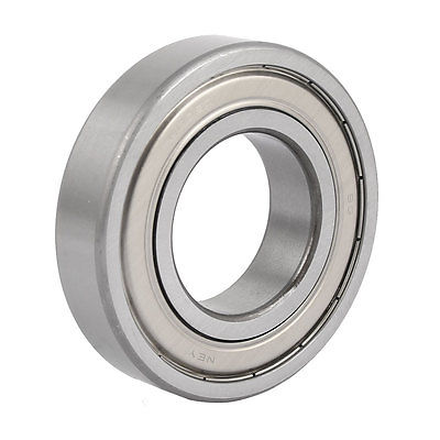 ZZ6209 45mm Inside Dia 85mm Outside Dia Double Sealed Deep Groove Ball Bearing 6000 2rs sealed deep groove ball bearing 10mm inner dia black silver tone