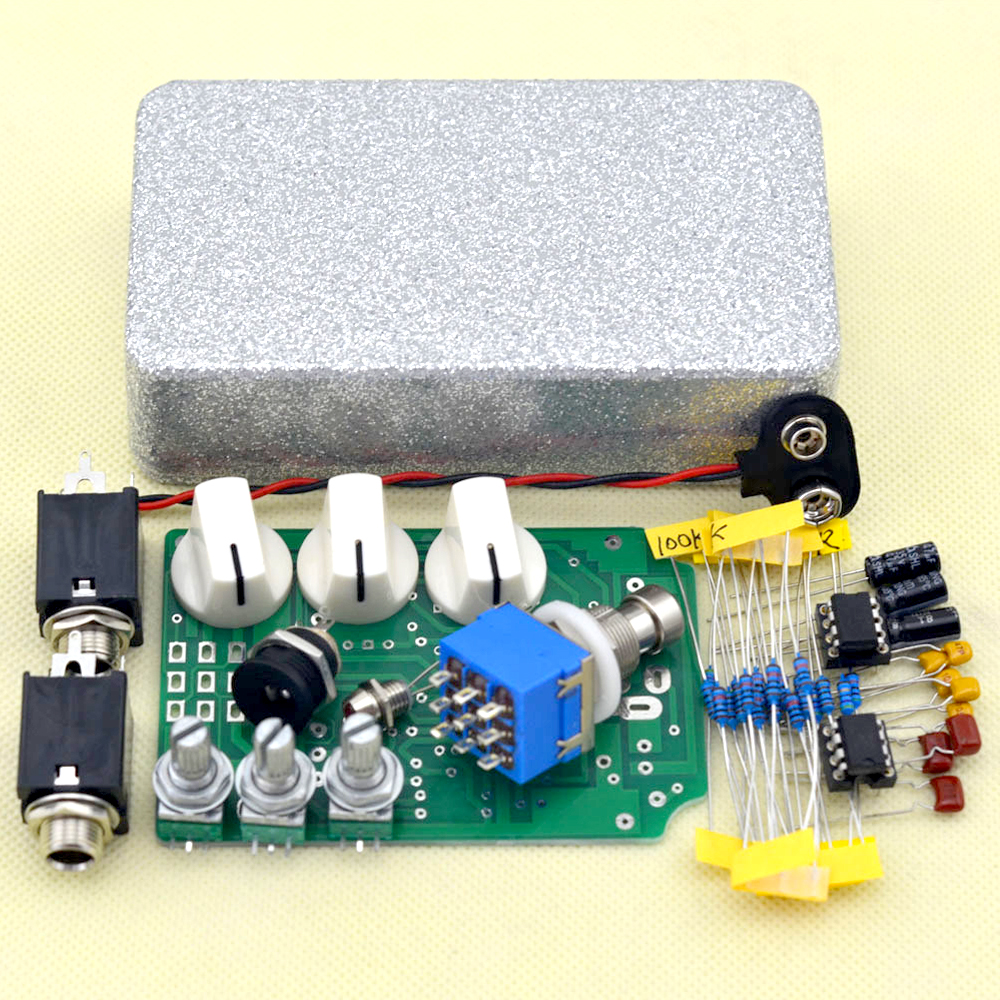 DIY Overdrive Guitar Effect Pedal True Bypass Electric guitar stompbox pedals OD2 guitar parts