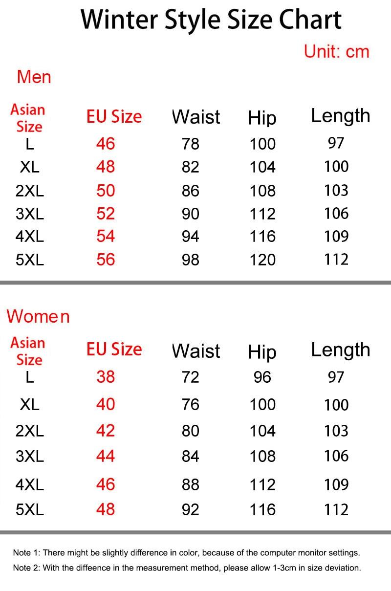 297xiaoyima size chart women