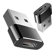 USB 3,0 type A папа-USB 3,1 type C гнездовой соединитель конвертер адаптер USB Стандартная зарядка передача данных@ ND