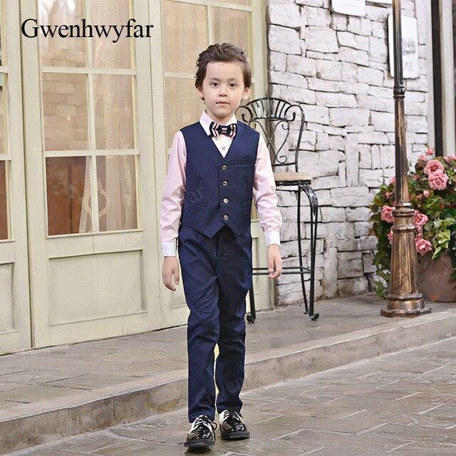 96e9716bd Gwenhwyfar New Children Suit Nvay Baby Boys Suits Kids Blazer Boys ...