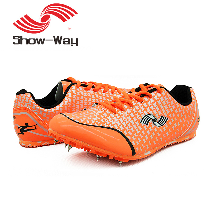 HEALTH sprint spikes mens running shoes