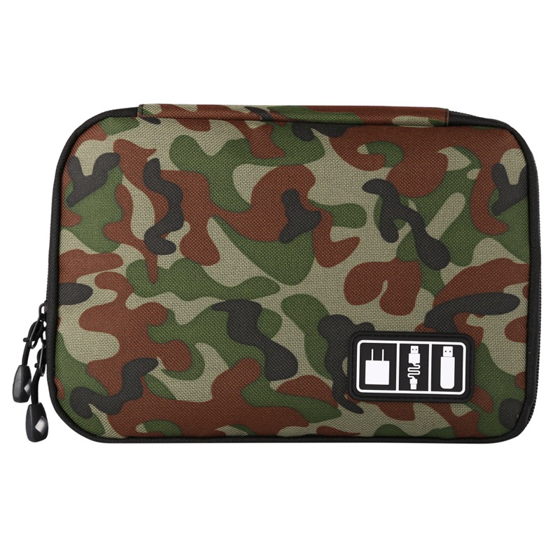 Portable Travel Case Digital Storage Bag Cables USB Flash Drives Storage Bag Data Cable Electronic Accessories Organizer