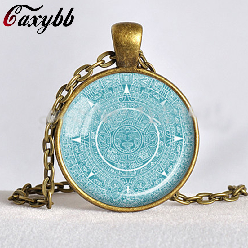 Buy mayan calendar pendant and get free shipping on aliexpress aloadofball Image collections