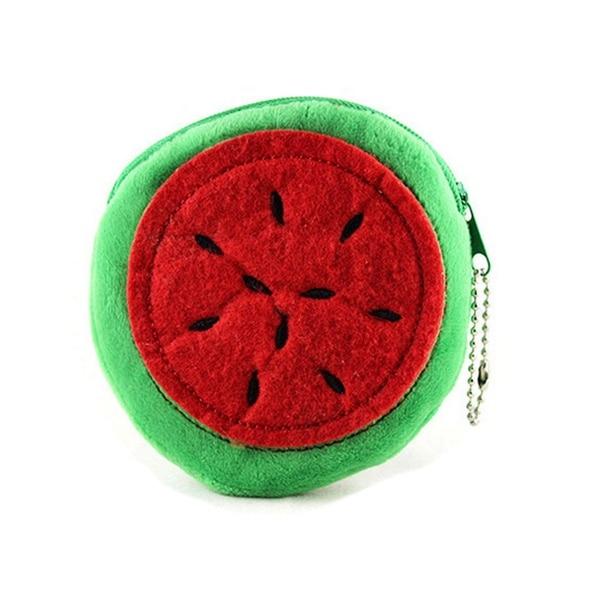 FGGS-Fruit Design Coin Money Bag Purse Wallet For Women Girl Lady Gift