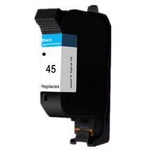 1pk hp45 51645a cartucho de tinta negro para hp 45 deskjet 710c 720c 815c 832c 830c 820cxi 870cxi 850c 930c 980c 870cxi Impresora tinta