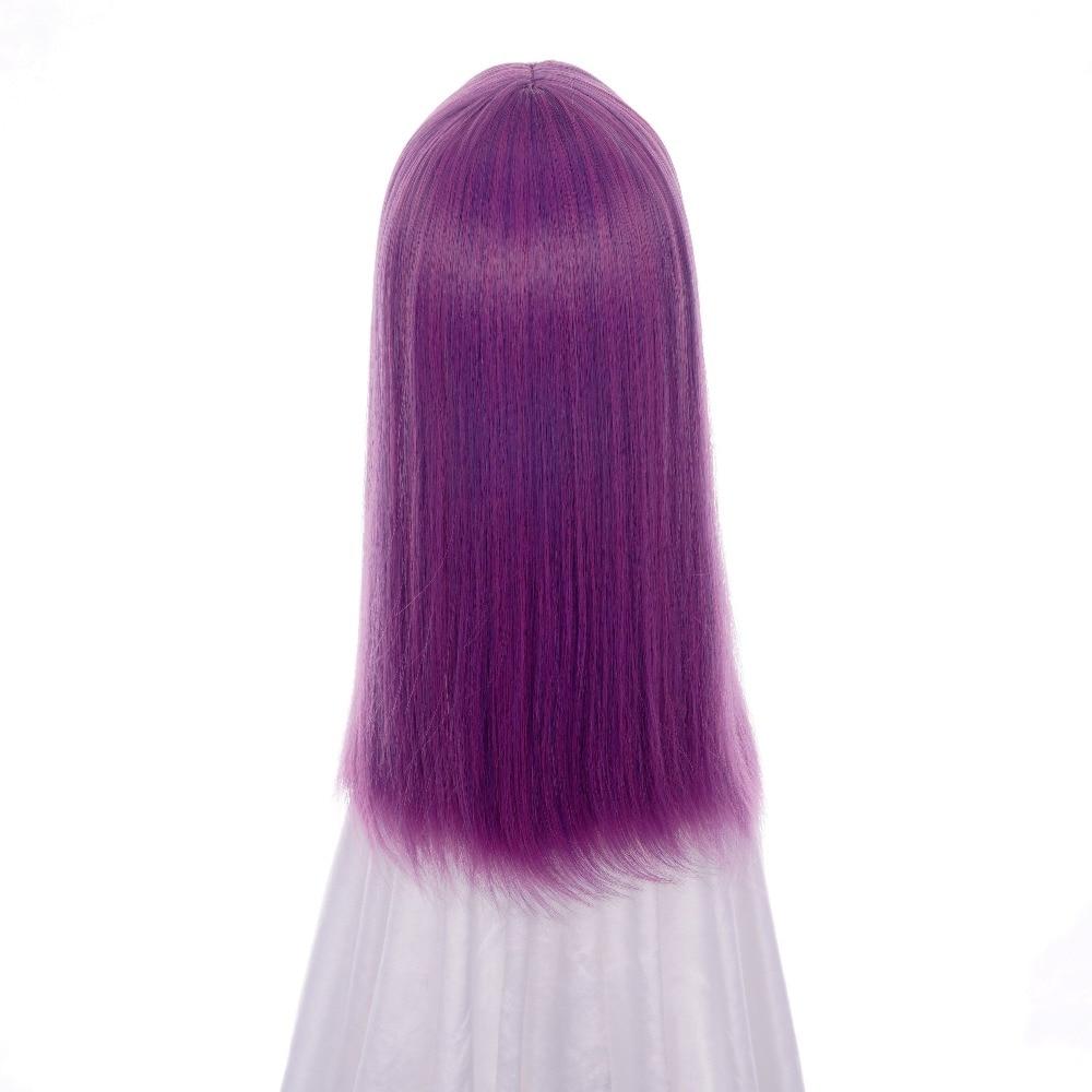 ccutoo Απογόνους 2 Μικρές 60 εκατοστά Μωβ - Συνθετικά μαλλιά - Φωτογραφία 4