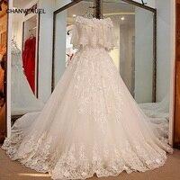 LS15470 modest bridal wedding dress Lace ball gown corst dress princess korean wedding dress with removable jacket