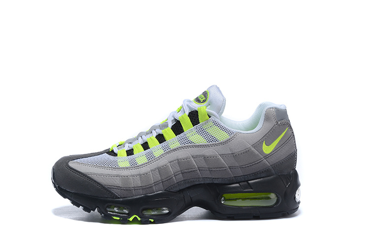 separation shoes b45a0 16cda 2019 New Nike Air Max 95 OG QS Men s Running Shoes Breathable Sport Outdoor  Sneakers For Men Nike 95 Air Max Nike Air Max 95 OG