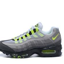 261b0a2c Новинка 2019 года Nike Air Max 95 OG QS для мужчин бег обувь дышащая  Спортивная Открытый