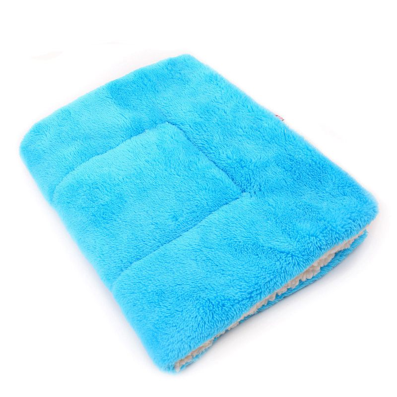 Petcircle large pet mats pure color dog beds cat mats for large and small dogs to travel in