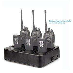 Image 5 - Зарядное устройство Retevis RTC777, шестистороннее зарядное устройство с многоцелевой защитой для Baofeng 888S, зарядное устройство для рации Retevis H777/H777 Plus