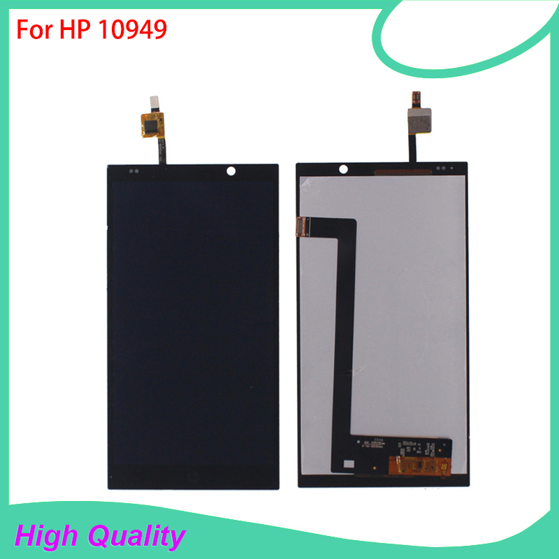 LCD Display Touch Screen Digitizer Assembly For HP 10949 HP Slate 6 6 100% Tested Mobile Phone LCDs Free Tools