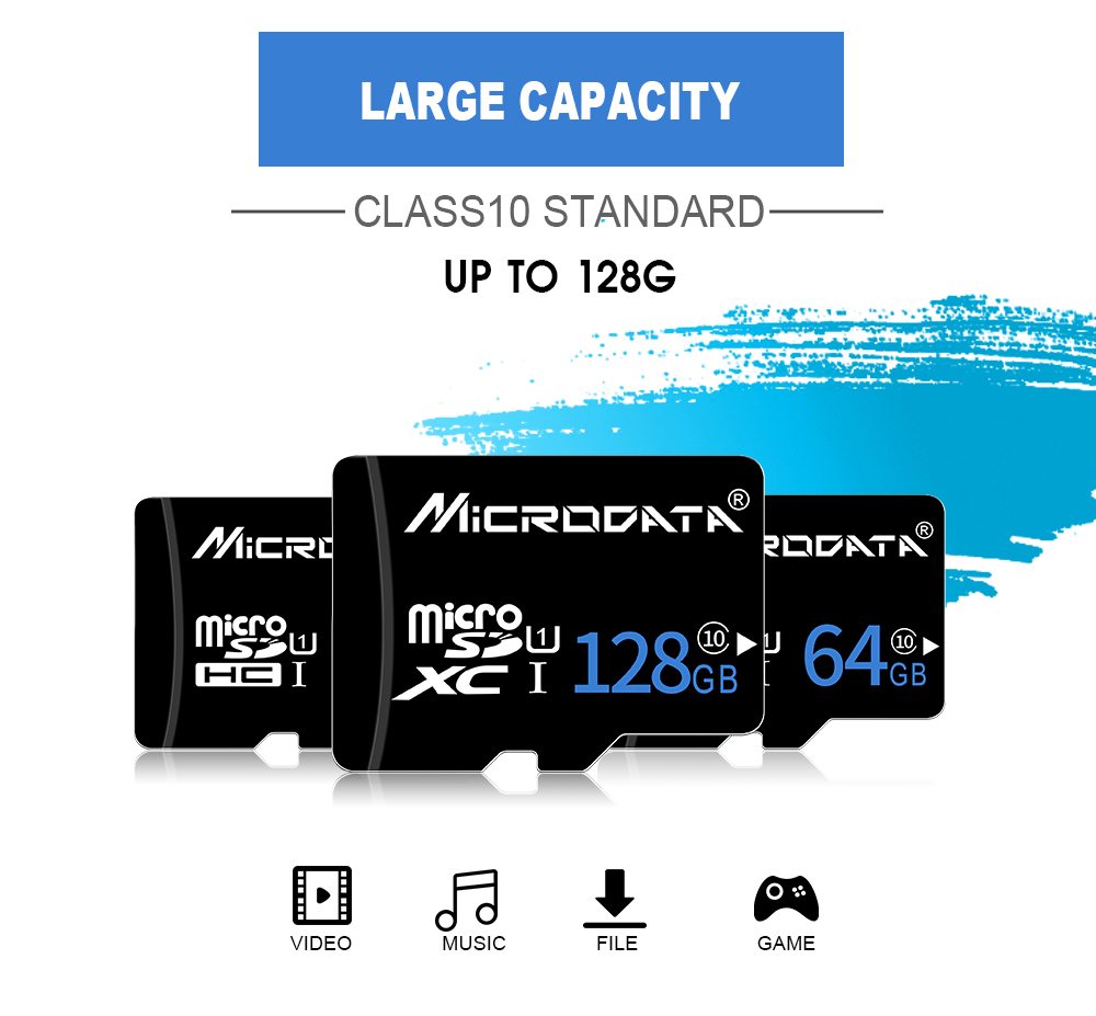 Real capacity Class 10 memory card 32GB 16GB Micro SD cards 8GB 4GB TF Memory Card 64GB Mini map microsd card with Free adapter